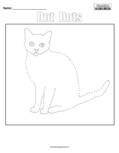 Cat- Dot Dots Connect the Dots