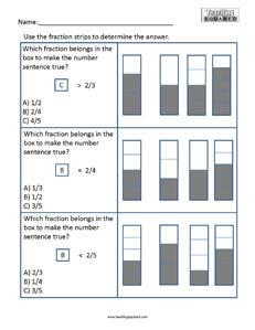 Brachiosaurus- Fractions Numerator math coloring