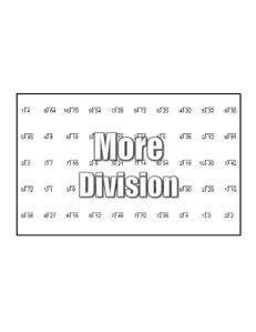 Dividing to 5 division worksheets