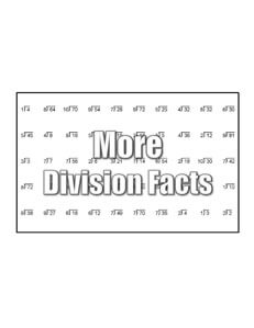 Find more division worksheets