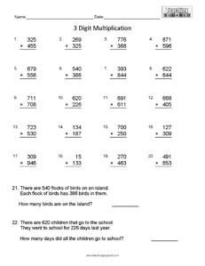 Computation Addition Regrouping math worksheets