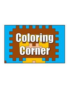 Get More Coloring Corner