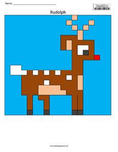 Deer- Free Coloring Page