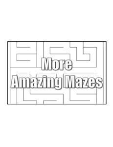 Amazing Mazes top fun activity