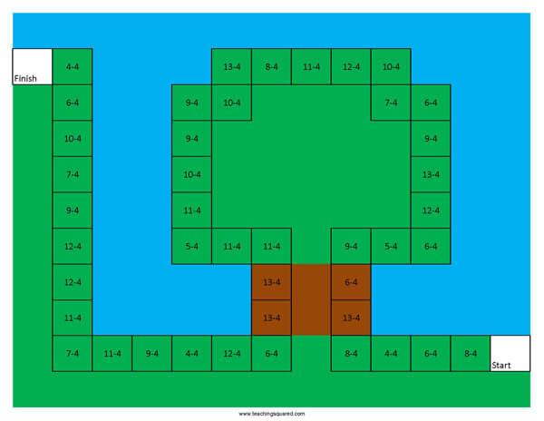 Super Math Land- World 4