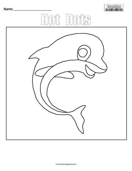 Dot Dots- Dolphin