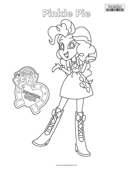 Equestria Girls- Pinkie Pie Connect the Dots