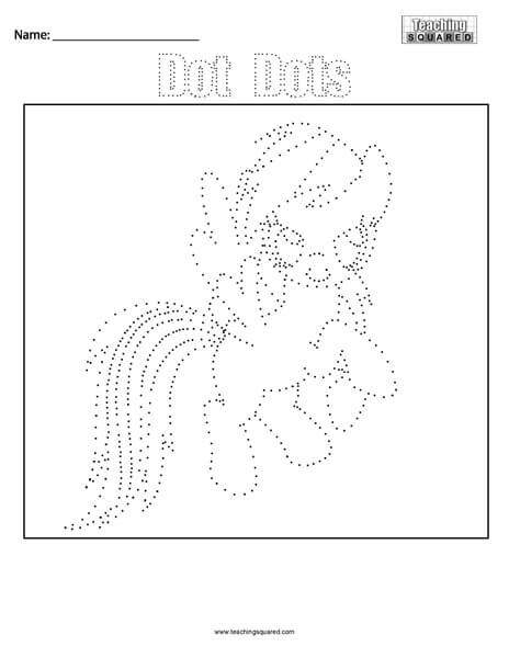 My Little Pony- Dot Dots Connect the Dots