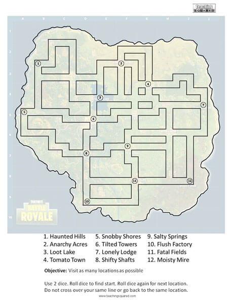 Fortnite Maze